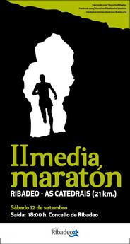 II MEDIA MARATON RIBADEO - AS CATEDRAIS