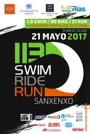 113 SWIM RIDE RUN. TRIATLON MEDIA DISTANCIA Y OLÍMPICO NO DRAFT SANXENXO 2017
