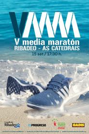 V MEDIA MARATON RIBADEO – AS CATEDRAIS