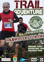 TRAIL ADVENTURE MUIÑOS DO FOLÓN 2020