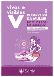 IV CARREIRA VIRTUAL DA MULLER VIVAS E VISIBLES