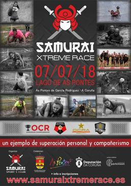 SAMURAI XTREME RACE AS PONTES 2018