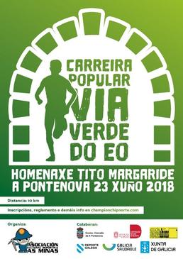 1ª CARRERA POPULAR VIA VERDE DO EO (HOMENAXE TITO MARGARIDE)