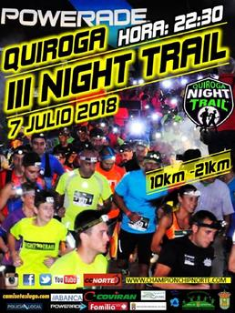 III NIGHT TRAIL QUIROGA