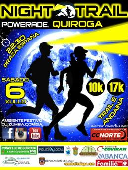 IV NIGHT TRAIL QUIROGA